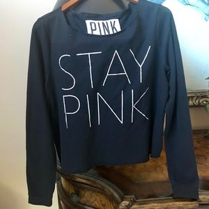 Victoria Secret Pink | Stay Pink Sweatshirt